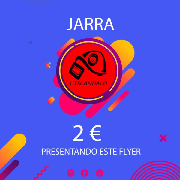 Pub L'scandalo: Jarra Cerveza 2 €